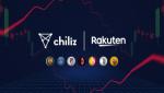 칠리즈-라쿠텐 유럽, 파트너쉽 체결···포인트로 팬 토큰 구매 가능