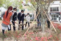 김삼호 광산구청장, 어린이공원 나무심기 후원 행사 참석