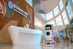 SKT, 용인세브란스병원에 5G 복합방역로봇 솔루션 상용화