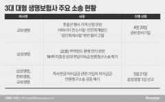 풋옵션 분쟁부터 즉시연금까지···'생보사 빅3'는 소송중