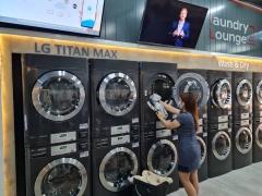 LG전자, 상업용 세탁기 시장 공략 본격화···'론드리 라운지' 확대