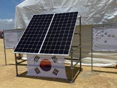 한화큐셀, 370MW 규모 앙골라 태양광 발전 사업에 태양광 모듈 공급