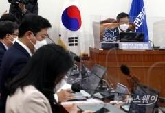 [NW포토]발언하는 윤호중 비대위원장