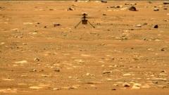 """NASA """"화성 헬기 '인저뉴어티' 2차 비행 성공···52초 동안 날아"""""""