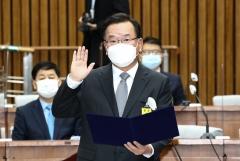 김부겸 총리 인준안 통과···찬성 168·반대 5·기권 1·무효 2표(상보)