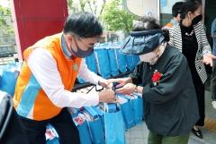 한국거래소, 어버이날 맞아 취약계층 노인 대상 봉사활동