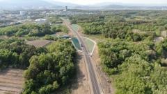경산시, 대구대-평사간 도로 1.8km 구간 11일 개통