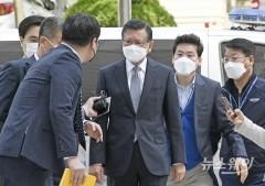 박삼구 전 금호아시아나 회장, '계열사 부당지원 혐의' 구속심문 종료