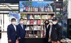 제주 탐나라공화국에서 '영천별빛한우' 홍보매장 개장