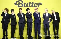 방탄소년단(BTS) '버터', 빌보드 핫100 7위··· 14주 연속 톱10 유지