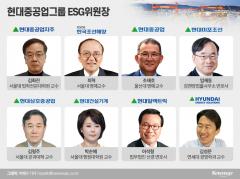 [ESG가 미래다|현대重그룹]'친환경 초일류 기업' 이끌 위원장 8人