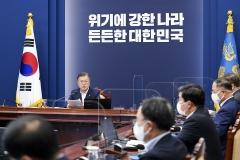 문 대통령 지지율 38.5%···2030 긍정평가 비율 상승