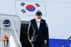 문 대통령,  G7 회의 참석 영국 출국···유럽 3개국 순방 돌입