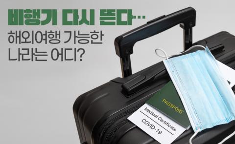 비행기 다시 뜬다···해외여행 가능한 나라는 어디?
