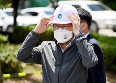 박남춘 인천시장, 안전하고 깨끗한 수돗물 공급 위한 현장점검 나서