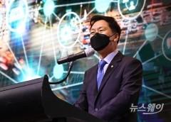 [NW포토]축사하는 국민의힘 김기현 원내대표