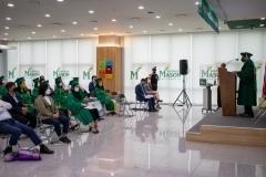 한국조지메이슨대학교, 온·오프라인 하이브리드 졸업식 개최
