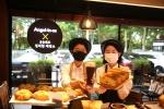 엔제리너스, 석촌호수에 첫 베이커리 카페 오픈