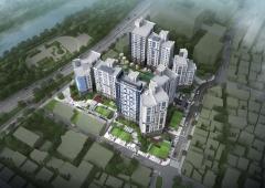 포스코건설, 대구서 '더샵 수성오클레어' 견본주택 개관
