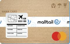 하나카드, 해외 직구 특화된 '몰테일 플러스 카드' 출시