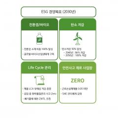 """SK케미칼 """"2050년 탄소중립 실현···2030년 온실가스 50% 저감"""""""