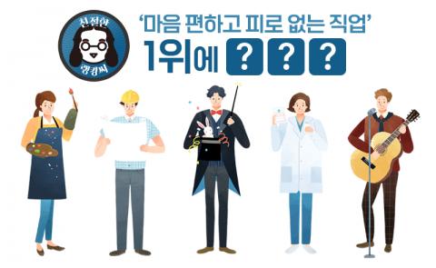 '마음 편하고 피로 없는 직업' 1위에 ○○○
