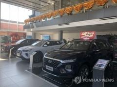 반도체 수급난에 7월 자동차 생산·내수·수출 '후진'