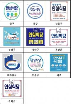 인천시, 농림부 주관 '2021년 상반기 안심식당 운영 평가' 전국 1위