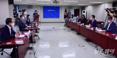 안철수 대표, 국민의당-대한의사협회 정책간담회