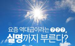 [카드뉴스]요즘 역대급이라는 ○○○, 실명까지 부른다?