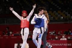 한국 태권도, 올림픽 사상 첫 '노골드'···이다빈, +67㎏급 은메달