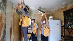 경산라이온스클럽, 저소득가정 대상 집수리 봉사활동 펼쳐