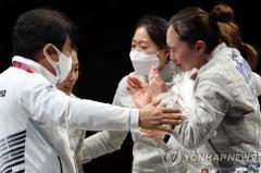 여자 사브르도 사상 첫 동메달···한국 펜싱 단체전 4종목 입상