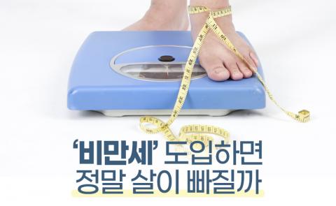 '비만세' 도입하면 정말 살이 빠질까
