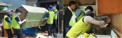 전남농협, 수해피해농가 찾아 주거환경개선 봉사활동