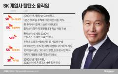 '탈탄소' 강조하는 최태원···SK 계열사들 '바쁘다 바빠'
