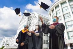 조선대, 2020학년도 후기 학위수여식···졸업생 780명 배출
