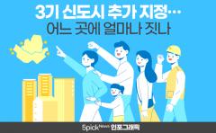 [인포그래픽 뉴스]3기 신도시 추가 지정···어느 곳에 얼마나 짓나(feat.역대 신도시)