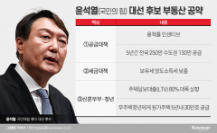 [대선후보 부동산 공약 검증 ①윤석열]규제 완화에 공급 늘린다는데···재원조달 '글쎄'