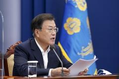 문 대통령, 경북 포항시에 태풍 오마이스 피해 특별재난지역 선포