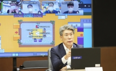"""[2021 국감]윤종원 기업은행장 """"중도상환수수료 인하 검토할 것"""""""