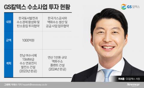 'GS 신성장동력' 수소사업 이끄는 GS칼텍스 허세홍號