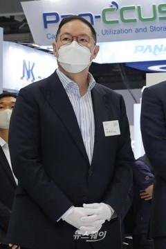 """[韓 수소 드림팀]조현상 효성 부회장 """"탄소섬유 年 2만4000톤 생산 확대할 것"""""""