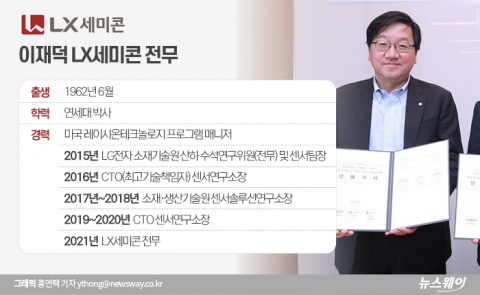 구본준號 LX세미콘 신사업 맡은 'LG 출신' 이재덕 전무