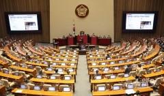 정당 지지율, 민주당 35.9%·국민의힘 35.0%···오차범위 내 역전
