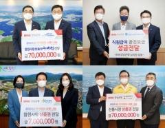 BNK경남은행, 추석 앞두고 3억5000만원 규모 나눔 활동 펼쳐