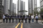 대우조선해양건설 엘크루, 새 B.I 제막식 개최···'환골탈태' 새로운 도약