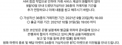 서버점검 코인빗, 고객 예치금 93억원