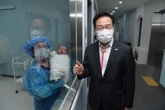영천시, 분만산부인과 100번째 아기 탄생