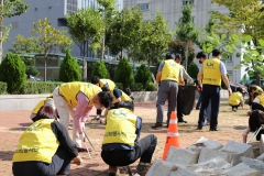 한국국토정보공사 광주전남지역본부, 환경정화활동 펼쳐